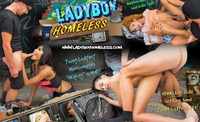 Ladyboy Homeless